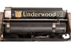 Underwood Number Five Typewriter