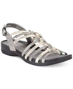 Easy Street Twister Easy Motion Flat Sandals