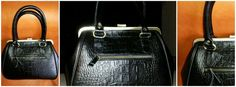 Bagera leather frame bag