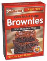 Doctor's CarbRite Diet Chocolate Chip Brownie Mix by Universal Nutrition - oz Sugar Free Brownies, Chocolate Chip Brownies, Boxed Brownies, Cheese Nutrition, Healthy Nutrition, Healthy Protein, Healthy Fruits, Nutrition Guide, Per Diem