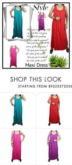 SLEEVELESS MAXI NIGHTWEAR by globaltrendzs-flipkart on Polyvore  nighty   maxi  nightgown  fancy  sleepwear  nightwear  summercollection  womennighty   sale ... cbc7f45ff