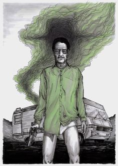 Breaking Bad Illustrations from British Artists