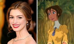 Anne Hathaway and Jane, I love it!!