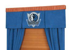 NBA Dallas Mavericks MVP Valance and Drape