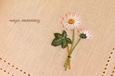 Freestyle Embroidery : Daisy - Mayu Embroidery