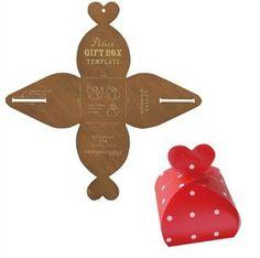 Box Retro Zakka Quadrato Regalo Template, Gift Box Maker, stencil Manuale muffa make scatola regalo 8pcs / lot