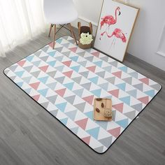 Children Play Rug 4x6 (2 colors)