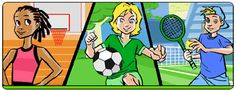 This fun site is a perfect place for tweens to explore health, fitness and social questions. The age-appropriate guides, articles and quizzes are written by health professionals at the Centers for Disease Control and Prevention.