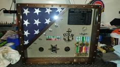 Another pic of the chest top shadowbox