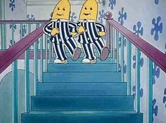 """Quando você era pequeno nada era mais legal que assistir """"Bananas de Pijama""""."""