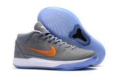 681d168423e5 2018 Nike Kobe A.D. Mid Grey Snake Chrome Habanero Red Circuit Orange Chino  Hills Basketball