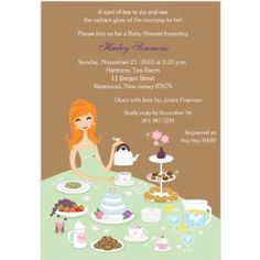 Tea For Two Party Themed Baby Shower Afternoon