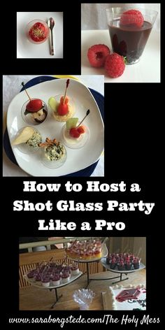 Click here for all the details to host your own Shot Glass Mini-Servings party! Shot Glass desserts, Shot Glass appetizers, how many to serve per person, what to purchase, and more. You can do this!