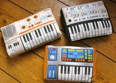 Minimachines Synthesizer Pillows