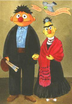 Ernesto y Berta / Diego y Frida