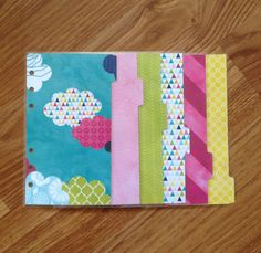 Personal filofax dividers - These are so cute!!