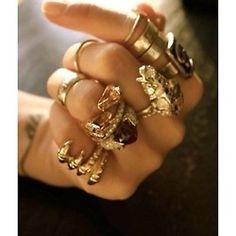 Gold Rings.
