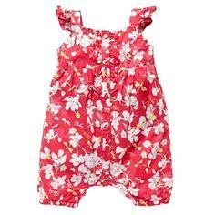 Baby's pink floral romper suit - Romper suits - Rompers & sleepsuits - Kids -