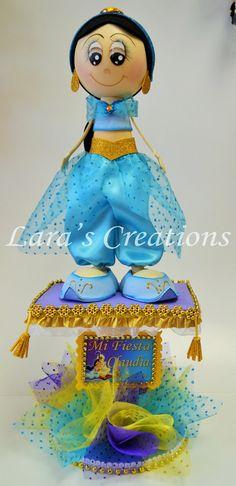 Jazmin Centerpiece Foam Jazmin doll by LarasCreationsShop on Etsy