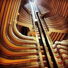 Lobby of the Atlanta Marriott Marquis