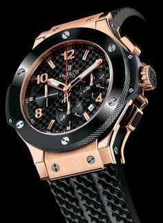 eaf7d2e64fd0e0 HUBLOT Big Bang Amazing Watches, Beautiful Watches, Cool Watches, Watches  For Men,
