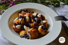 Papanasi mici la cuptor Fruit, Food, Hoods, Meals