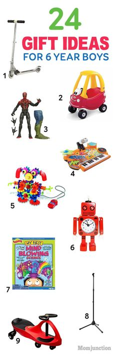 Gift Ideas For 6 Year Old Boys