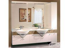 Vanico Maronyx' graceful white bath vanity / Avanti Collection Furniture Vanity, Bathroom Furniture, Bath Vanities, Tub, Bathrooms, Sink, Collection, Sink Tops, Bathtub