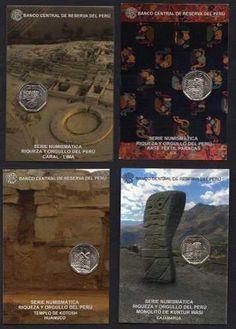 Monedas Colección Riqueza Y Orgullo Todos Los Blisters