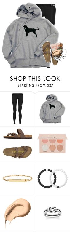 """""""At the emergency room"""" by summerdreaming7 ❤ liked on Polyvore featuring NIKE, Birkenstock, Guerriero, A.P.C., Lokai, Bobbi Brown Cosmetics and Avery"""