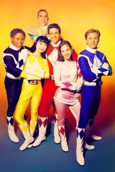 Mighty Morphin Power Rangers: this is when I loved it!! Haha not ashamed to admit it