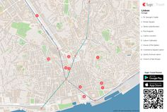 Get the free printable map of Lisbon Printable Tourist Map or create your own tourist map. See the best attraction in Lisbon Printable Tourist Map. Printable Maps, Free Printables, Map Design, Free Design, Lisbon Map, Travel Maps, Free Travel, Map Wall Decor, Tourist Map