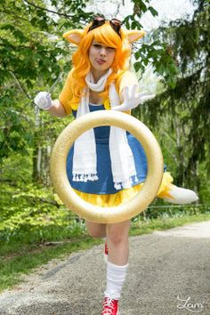 """""""Gotta get 99 more!"""" Character: Rule!63 Miles """"Tails"""" ProwerSeries: Sonic the Hedgehog Photography (C) Lam Lam PhotographyCosplayer: Avalon Cosplay"""