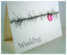 Handmade #Wedding #Invitations Sample