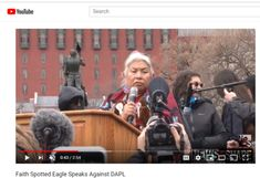 Faith Spotted Eagle, a Native American activist, politician, and member of the Yankton Sioux Nation, spoke out against the Dakota Access Pipeline Friday morn. Sioux Nation, Dakota Access, Youtube Search, Change The World, Presidents, Politics, Faith, American, Loyalty