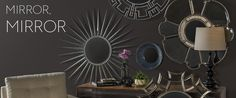 Mirrors from Living Spaces