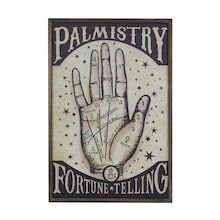 Palmistry Fortune Telling Wall Sign by Ashland®