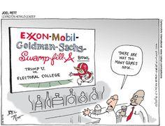 Joel Pett Editorial Cartoon, December 27, 2016     on GoComics.com