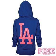 VS Pink LA Dodgers Hoodie