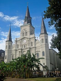 New Orleans : St Louis Cathedral The Places Youll Go, Places To See, New Orleans, St Louis Cathedral, Us Road Trip, Photo Printing Services, Cruise Port, Crescent City, Most Beautiful Cities