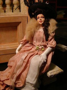 """lucinda is enjoying europe,w/o Lord Banks,character Doll,by""""Marcia Backstrom,NR"""