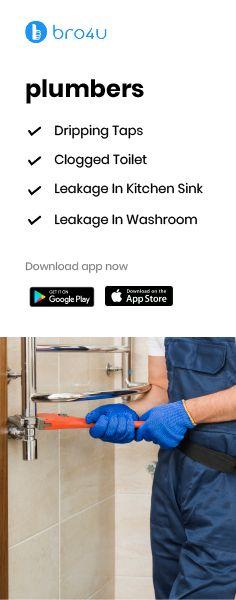 Clogged Toilet, Washroom, Kitchen Sink
