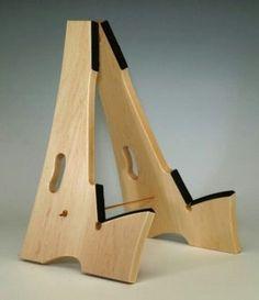 suporte de madeira para guitarra                              …