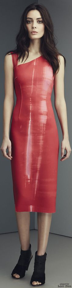 love the color and the sheen. Fashion 2015, New Fashion, Fashion Beauty, Girl Fashion, Fashion Show, Autumn Fashion, Womens Fashion, Fashion Design, Red Chakra