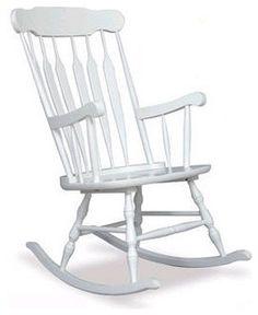 KidKraft Adult Rocking Chair In White   18170   Rocking Chairs   Nursery  Furniture   Baby U0026 Kidsu0027 Furniture   Furniture