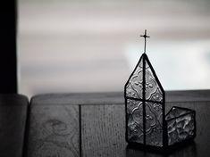ステンドグラス 教会ジュエリートレイ