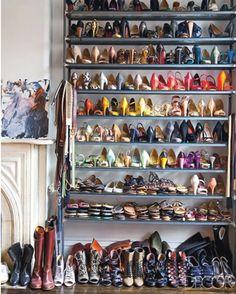 love the shoe arrangement