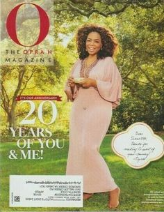O The Oprah Magazine May 2020 IT'S OUR ANNIIVERSARY! 20 YEARS OF YOU  ME! O The Oprah Magazine, May, Best Brand, Magazine Covers, 20 Years, Equality, You And I, Social Equality, You And Me