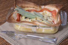 Pastel de tomate www.canalcocina.es/receta/pastel-de-tomate