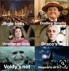 These Top 18 Harry Potter Memes Jingle Bells are so hilarious that will make you Funny and Laughing for whole day.We are sure you will enjoy these Top 18 Harry Potter Memes Jingle Bells. Harry Potter Mems, Images Harry Potter, Harry Potter Cast, Harry Potter Universal, Harry Potter Fandom, Harry Potter Characters, Harry Potter Hogwarts, Harry Potter Stuff, Harry Potter Voldemort